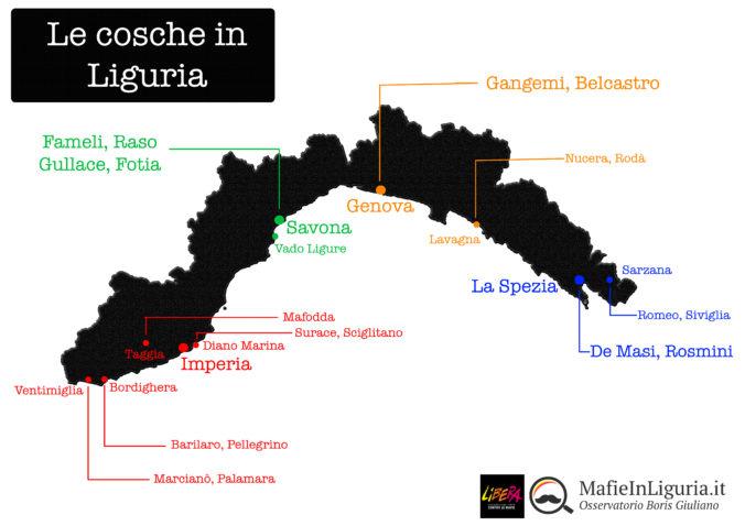Le cosche in Liguria