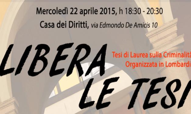 """Tesi """"libere"""", gli studenti narrano la Milano che resiste"""